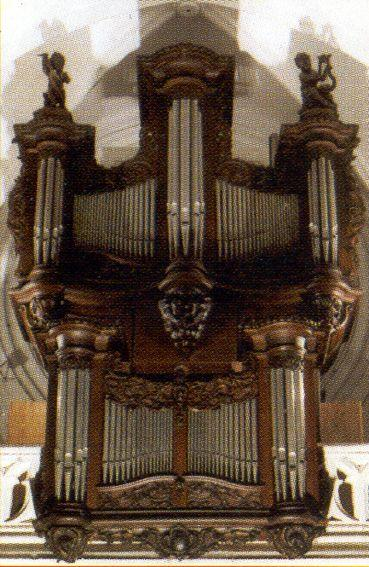 ORGUE DE L'EGLISE SAINT-MAURICE