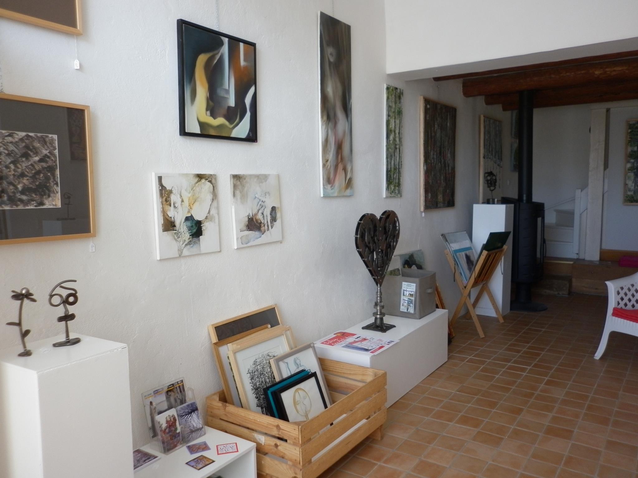 EXPOSITIONS AU GITE DES ARTS