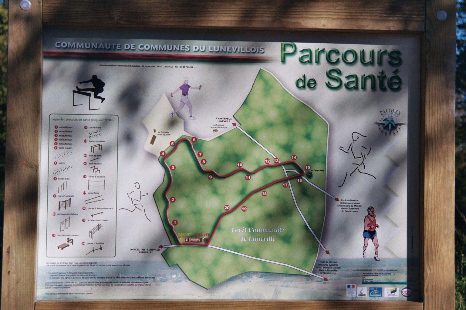 CIRCUIT PEDESTRE PARCOURS DE SANTE