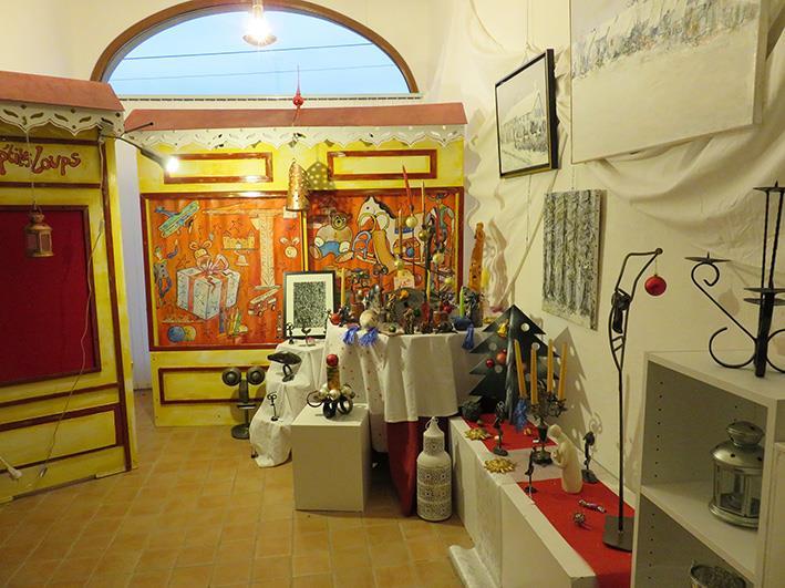 EXPOSITIONS AU GÎTE DES ARTS