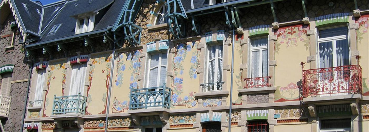 VISITE GUIDEE ART NOUVEAU QUARTIER NANCY THERMAL