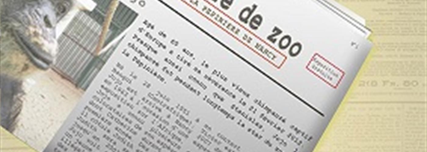 EXPOSITION PETITE HISTOIRE DE ZOO