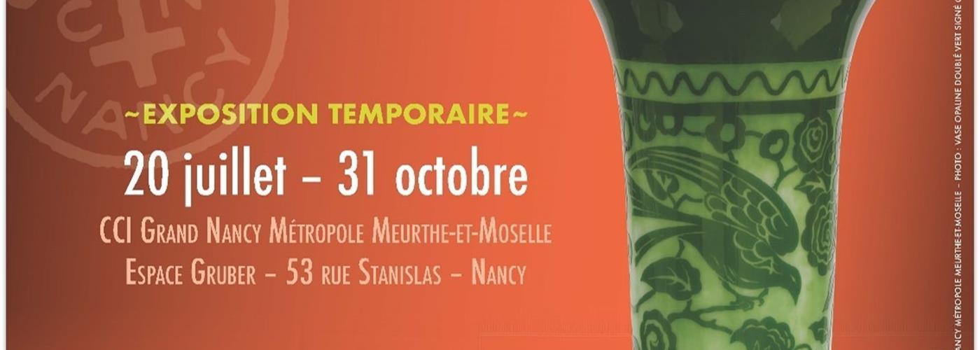 EXPOSITION LES CRISTALLERIES DE NANCY