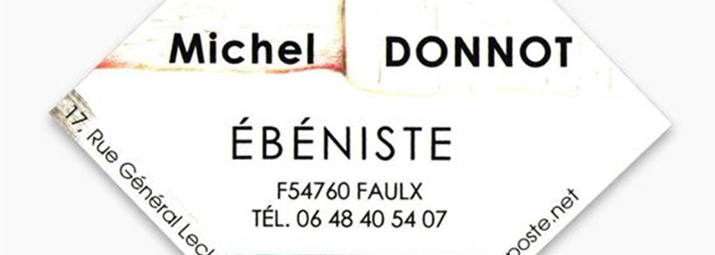 EBENISTE - MICHEL  DONNOT