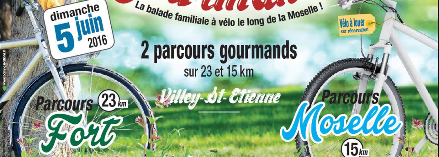 VELO GOURMAND- BALADE FAMILIALE A VELO LE LONG DE LA MOSELLE