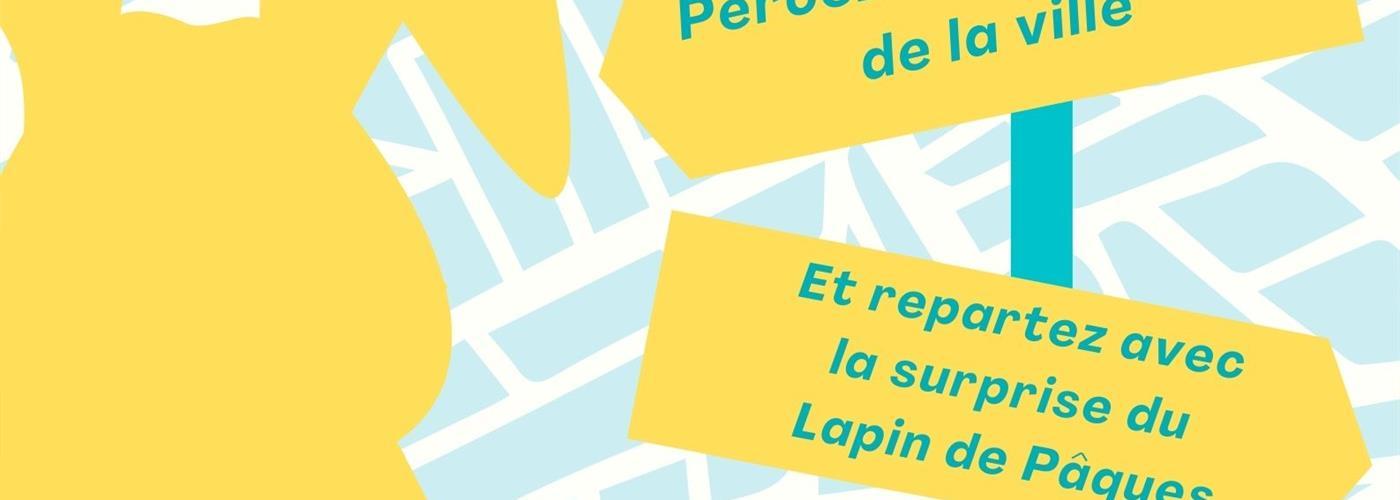 REPORTE - LE TRESOR DU LAPIN DE PAQUES