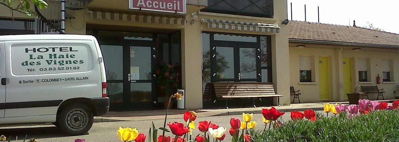 HOTEL RESTAURANT LA HAIE DES VIGNES