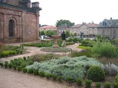 image - THE CLOISTER GARDEN OF THE ETIVAL ABBEY