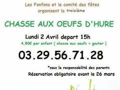 image - CHASSE AUX OEUFS D'HURE