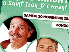 image - SPECTACLE DIDIER GUSTIN ET CLAUDE VANONY