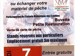 image - BOURSE AU MATÉRIEL DE PÊCHE ET VIDE GRENIER