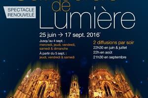 image - CATHEDRALE DE LUMIERE JUILLET 2015