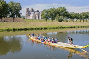 image - DRAGON BOAT  SUR LA MOSELLE CANALISEE