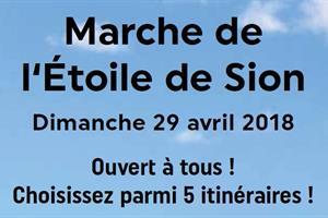 image - LA MARCHE DE L'ETOILE DE SION 2018