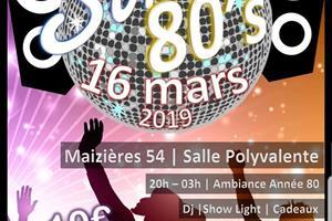 image - SOIRÉE ANNÉES 80