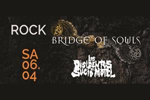 image - BRIDGE OF SOULS + LOS DISIDENTES DEL SUCIO MOTEL