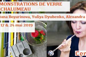 image - DÉMONSTRATIONS DE VERRE AU CHALUMEAU