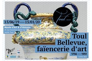 image - TOUL BELLEVUE, FAIENCERIE D'ART 1756-1951