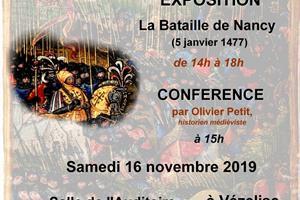 image - CONFÉRENCE-EXPOSITION 'LA BATAILLE DE NANCY' PAR OLIVIER PETIT