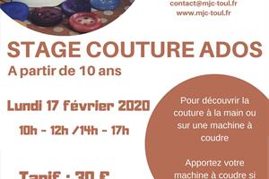 image - STAGE COUTURE ADOS