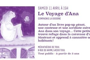 image - SPECTACLE 'LE VOYAGE D'ANA'