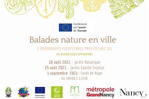image - BALADES NATURE EN VILLE
