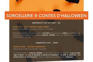 image - SORCELLERIE ET CONTES D'HALLOWEEN