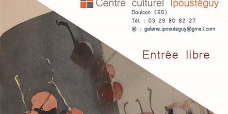image - EXPOSITION LES ŒUVRES PEINTES D'IPOUSTEGUY