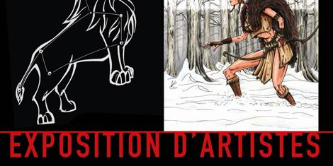 image - EXPOSITION D'ARTISTES : REDPALN & LORD FOX