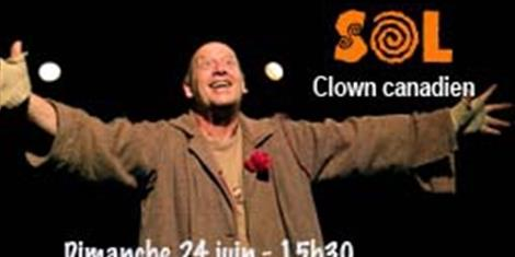 image - SPECTACLE SOL CLOWN CANADIEN