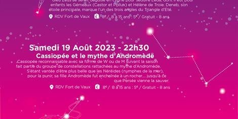 image - SORTIE ASTRONOMIE - VAUX SOUS LES ETOILES
