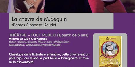 image - THÉÂTRE : LA CHÈVRE DE M. SEGUIN