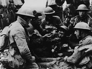 LES PREMIERS COMBATS DU CORPS EXPÉDITIONNAIRE AMÉRICAIN EN FRANCE OCTOBRE - NOVEMBRE 1917
