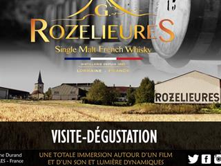 DISTILLERIE DE ROZELIEURES - PROVISOIREMENT FERMÉ