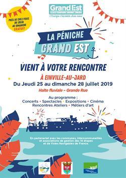 LA PÉNICHE GRAND-EST VIENT À VOTRE RENCONTRE
