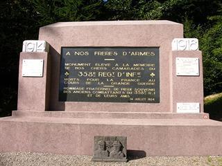 MONUMENT DU 358EME R.I.