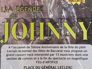 CONCERT HOMMAGE 'LA LÉGENDE DE JOHNNY'