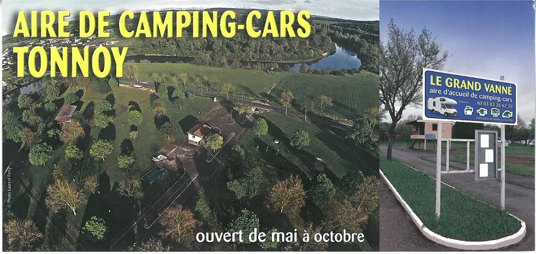 AIRE DE CAMPING-CARS DE TONNOY