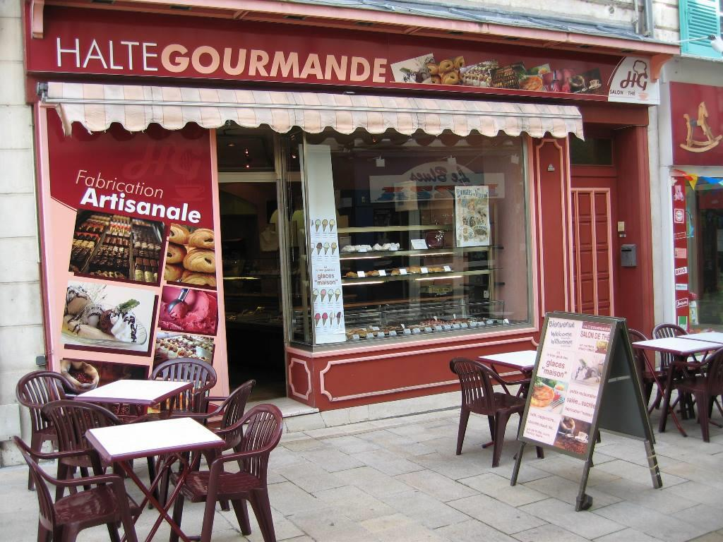 SALON DE THE TRAITEUR LA HALTE GOURMANDE