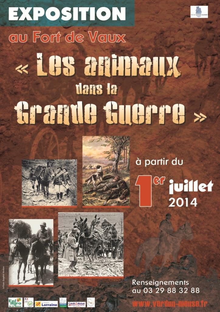 EXPOSITION |LES ANIMAUX DANS LA GRANDE GUERRE