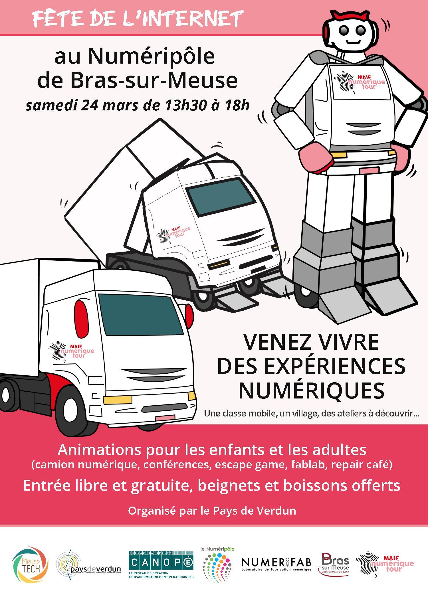 FÊTE DE L'INTERNET À BRAS - MAIF NUMÉRIQUE TOUR