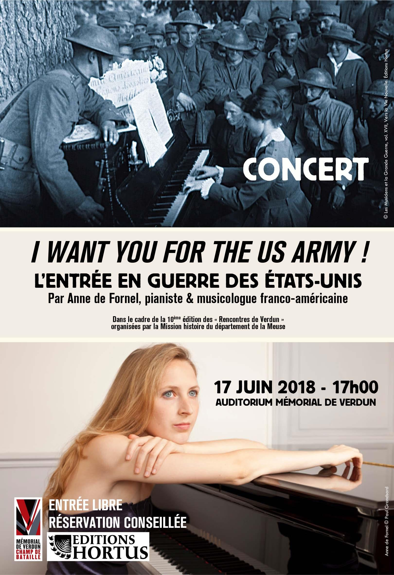 CONCERT I WANT YOU FOR THE US ARMY !