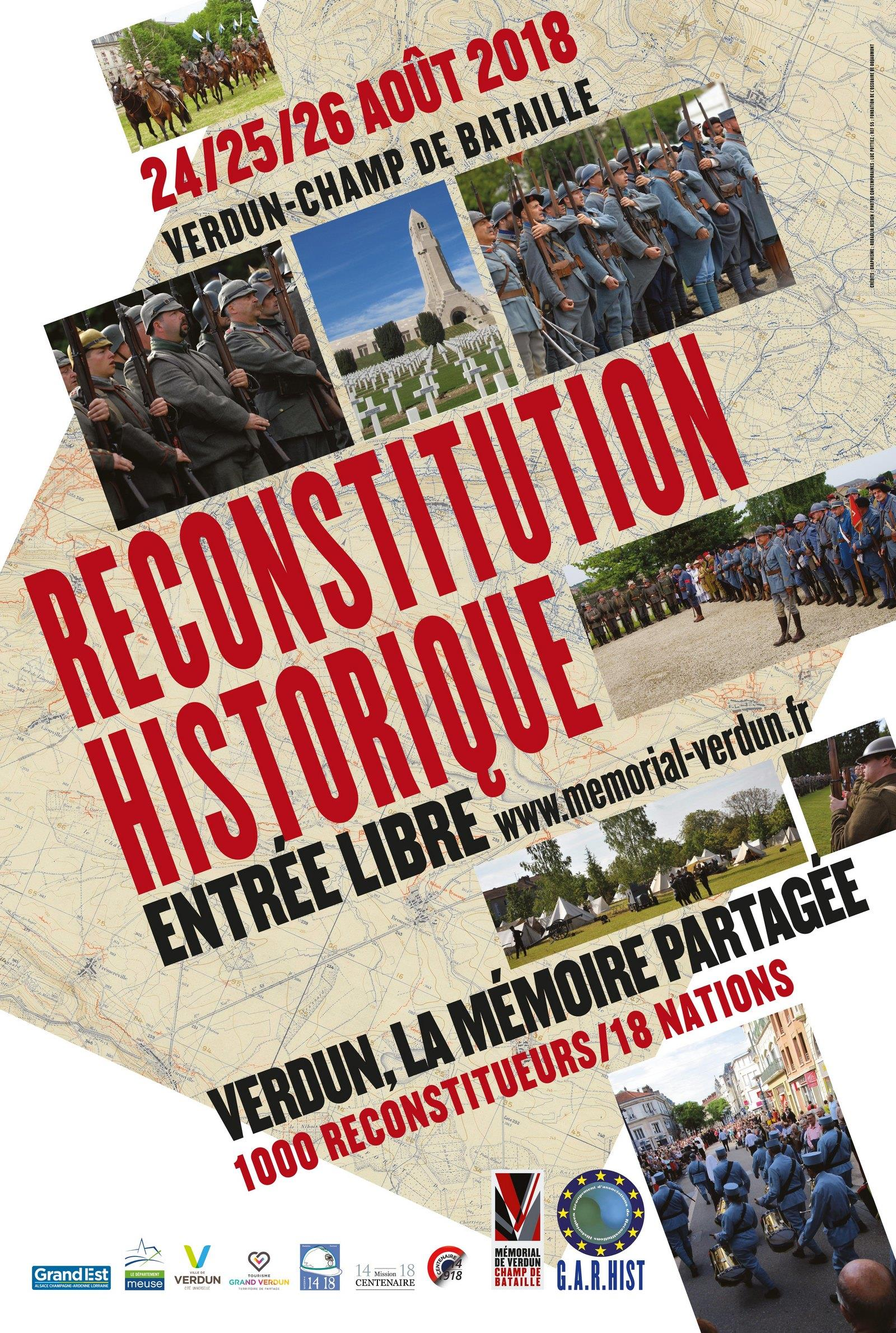 RECONSTITUTION HISTORIQUE 1914-1918