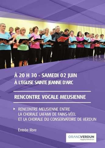 RENCONTRE VOCALE MEUSIENNE À L'ÉGLISE SAINTE JEANNE D'ARC