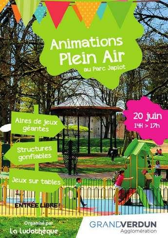 ANIMATIONS PLEIN AIR