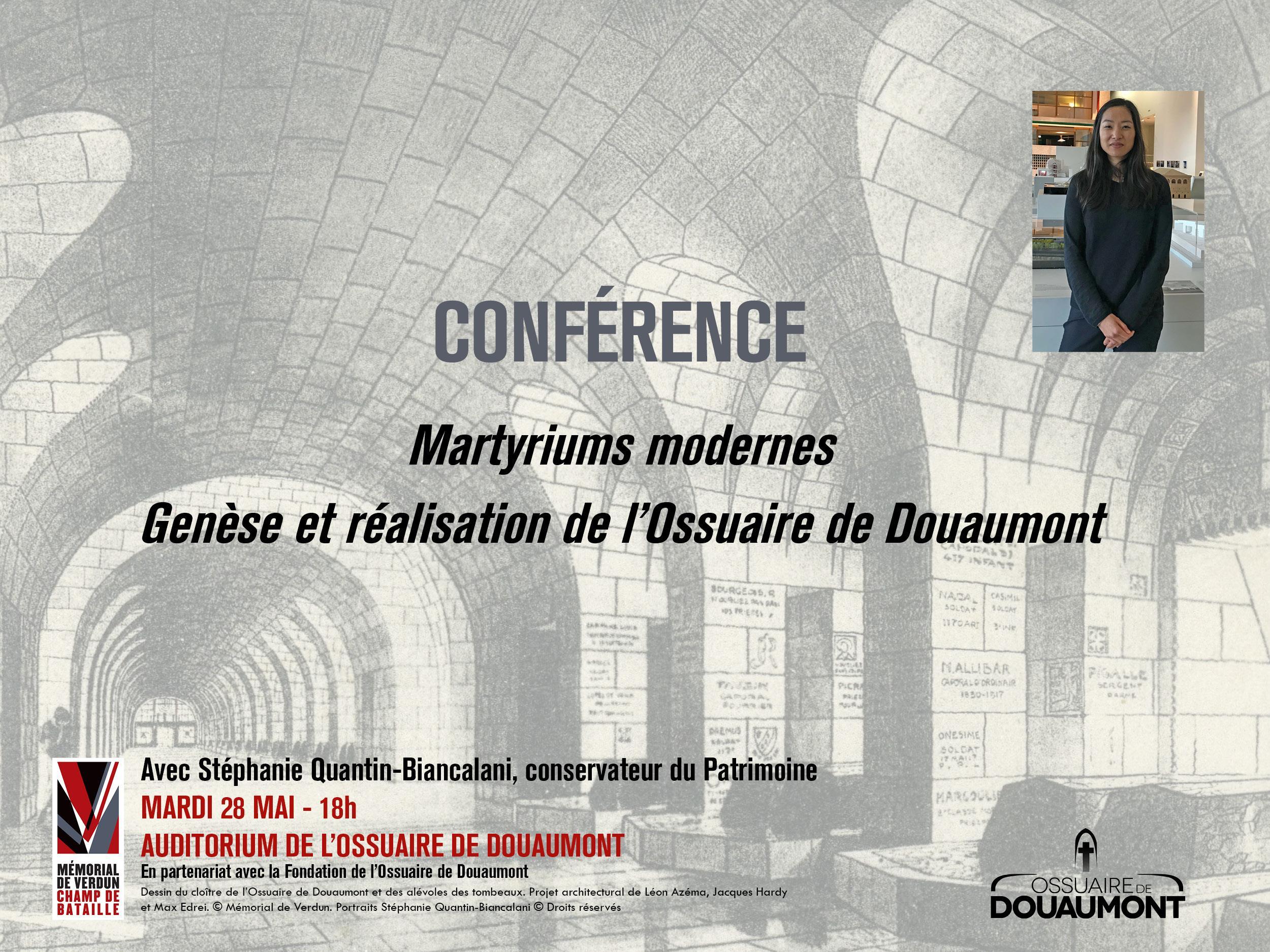 CONFÉRENCE | MARTYRIUMS MODERNES. GENÈSE ET RÉALISATION DE L'OSSUAIRE DE DOUAUMONT