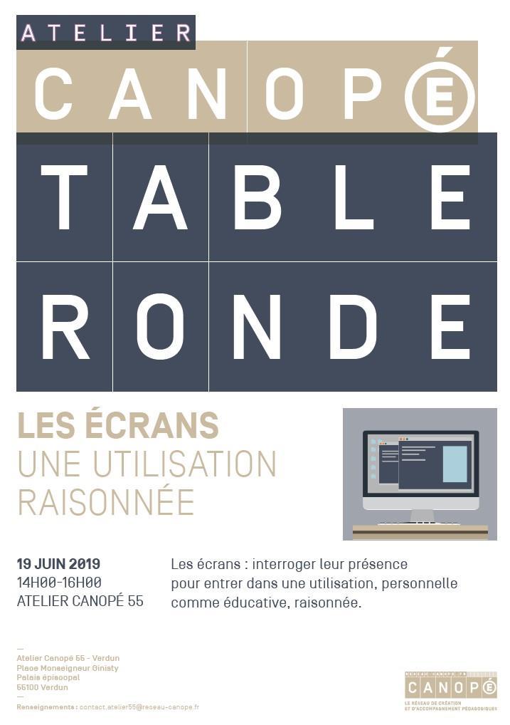 TABLE RONDE | LES ÉCRANS : UNE UTILISATION RAISONNÉE