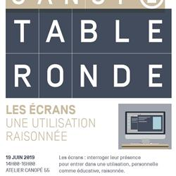 TABLE RONDE   LES ÉCRANS : UNE UTILISATION RAISONNÉE