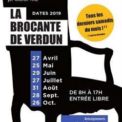 LA BROCANTE DE VERDUN AU MARCHÉ COUVERT