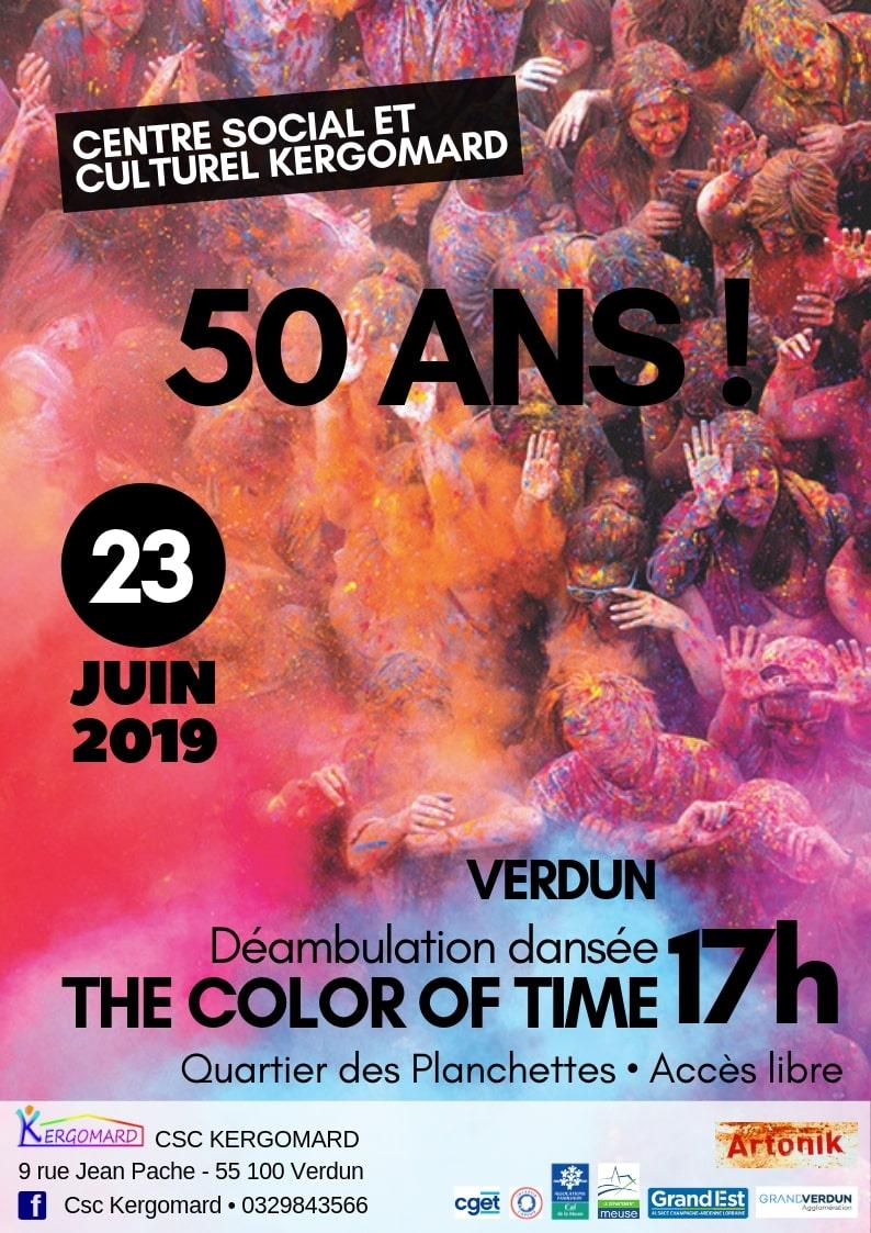 50 ANS DU CSC KERGOMARD - THE COLOR OF TIME
